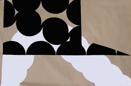 Curvas IX - 85x95 cm