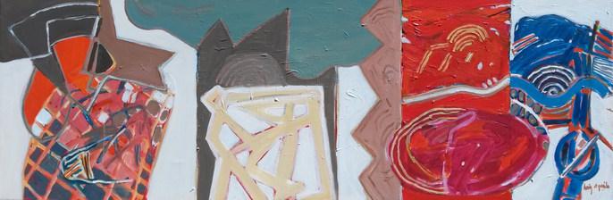 A pintura, o samba, a rumba