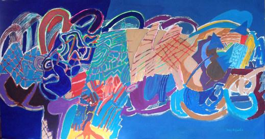 Pintura paraArlo - 100x190 cm