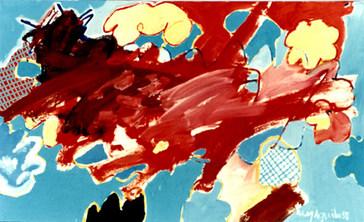 Segundo Canteiro da Pintura - 80X130 cm
