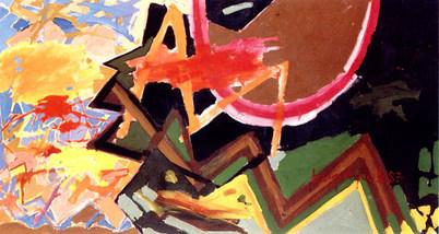 A Pintura, o Dia e a Noite - 110X200 cm