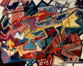 A Pintura e o Anjo - 140X180 cm
