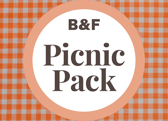 B&F Picnic Pack for 2
