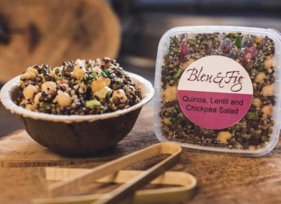 Quinoa, Lentil, & Chickpea Salad (1 lb)
