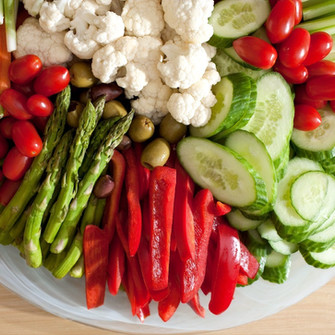 Crudite Party Plate