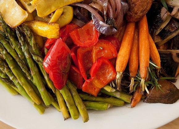 Seasonal Roasted Vegetable Platter