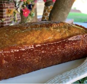 Honey Glazed beer bread