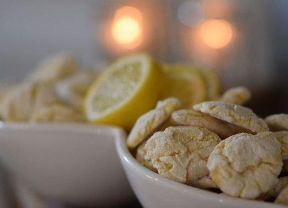Crinkle Cookies (1 dozen) - Chai, Chocolate, or Lemon