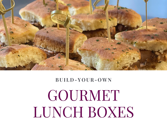 Gourmet Lunch Boxes