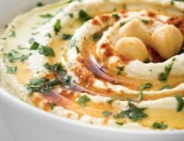 Signature Lemon Garlic Hummus
