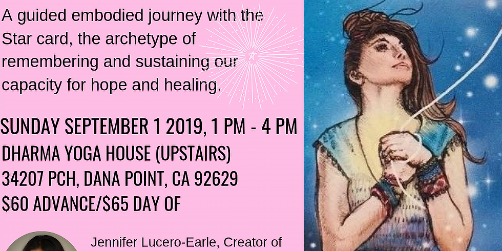 Dance for Hope & Healing with Tarot, Movement & Sound