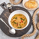 Сливочный рыбный суп 400 гр.