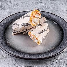 Сэндвич ролл с хрустящей треской