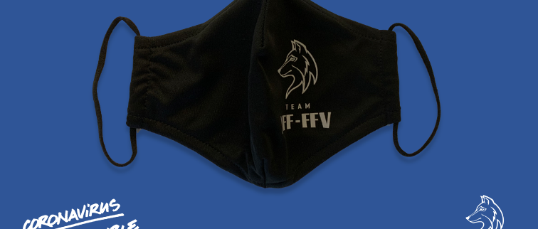 Masque officiel du Team AFF-FFV