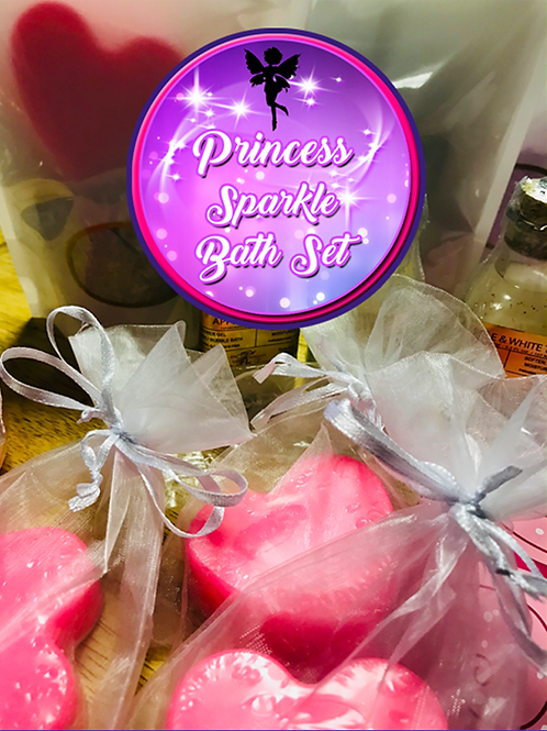 Princess Sparkle Bath Set