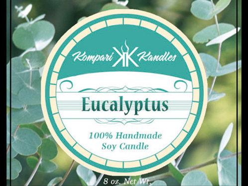 Eucalyptus Candle 100% Soy