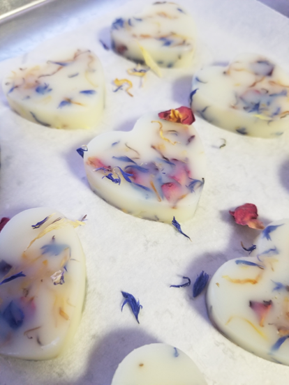 Organic Botanical Bath Melts
