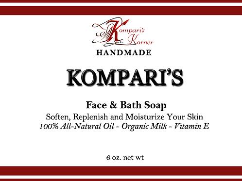 Kompari's Face & Bath Soap