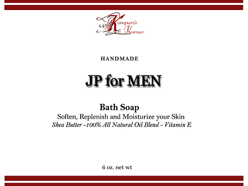 JP For Men Bath Soap