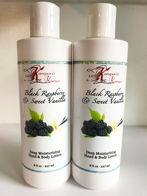 Black Raspberry Vanilla Lotion 8 fl. oz.
