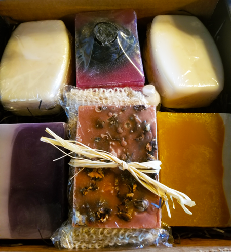 Soap Bar Gift Box Set