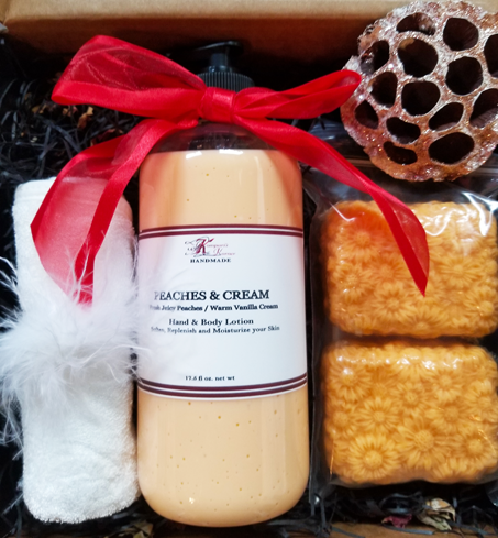 Peaches & Cream Gift Set