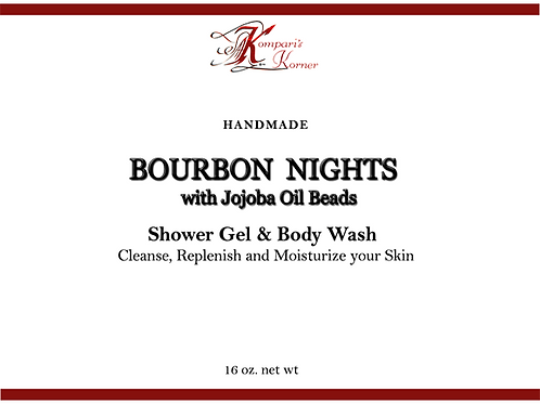 Bourbon Nights Shower Gel & Body Wash 16 oz.