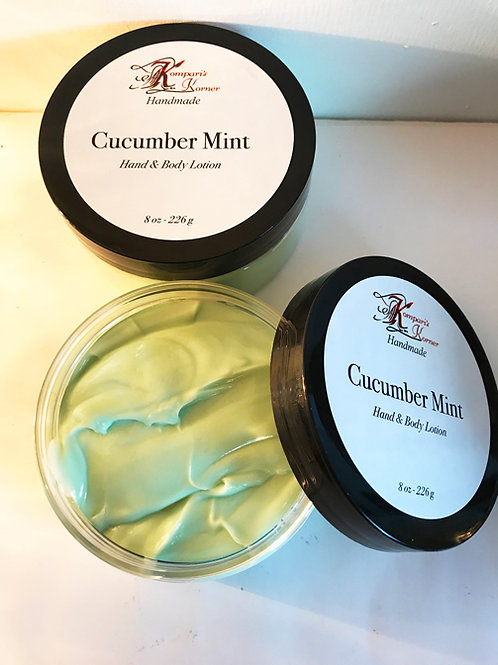 Cucumber Mint Hand & Body Lotion