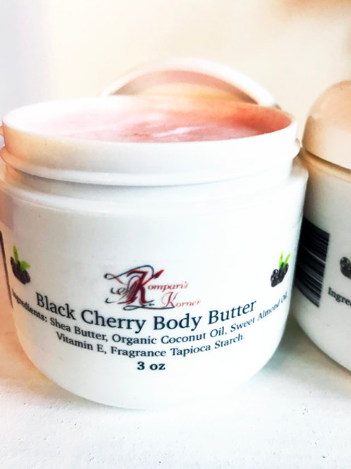 Black Cherry Whipped Body Butter