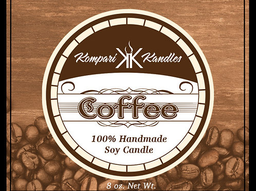Coffee Candle 100% Soy