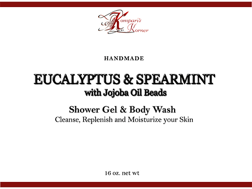 Eucalyptus Spearmint Shower Gel
