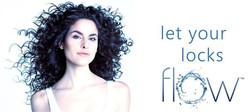melinda michael model flow hair