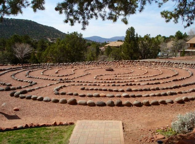 labyrinth sedona lodge.jpeg