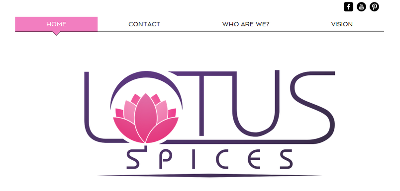 Lotus Spices website.png