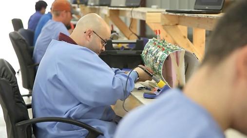 MRI coil manufacturing