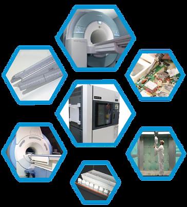 MRI coil manufacturing equipment
