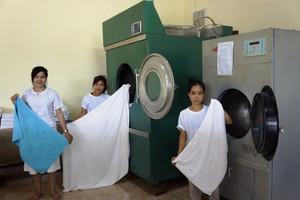 Professional Laundry in Luang Prabang -