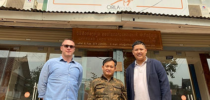 ORLA Tours team, Luang Prabang tour oper