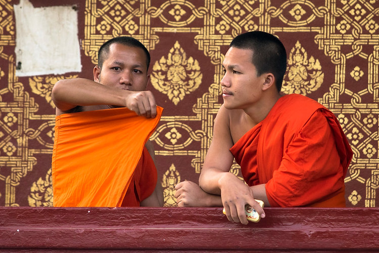 monks in Luang Prabang, Discovery tours