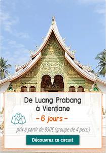 Voyage au Laos de Luang Prabang à Vientiane