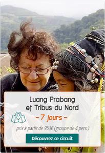 Voyage au Laos - Luang Prabang et Tribus du Nord