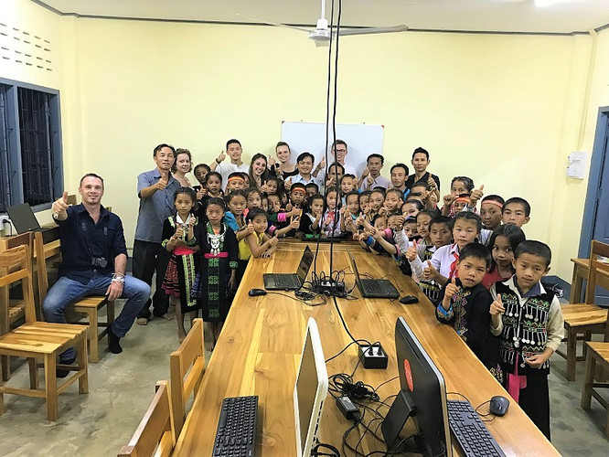 Charly Renaudin, voyage equitable au Laos, agence de circ