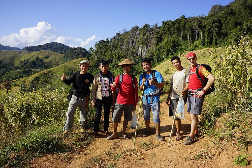 Trek 2 ou 3 jours, Luang Prabang, Off Road Laos Adventures