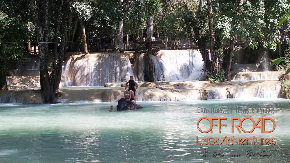 Tadsae Waterfalls Luang Prabang, Laos