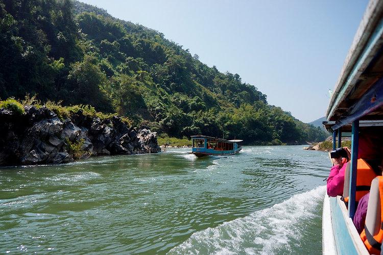 family tour in Laos with ORLA Tours, Lua