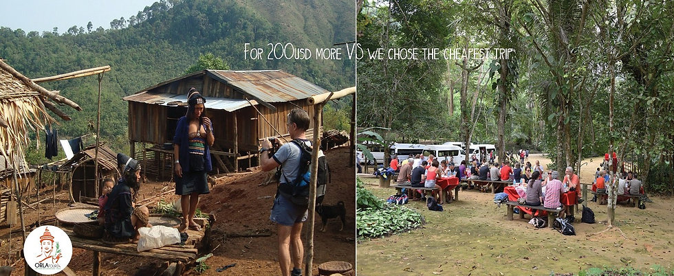 travel to Laos cost of a trip, ORLA Tour