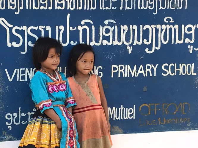 Sustainable travel in Laos, Aid in Laos,