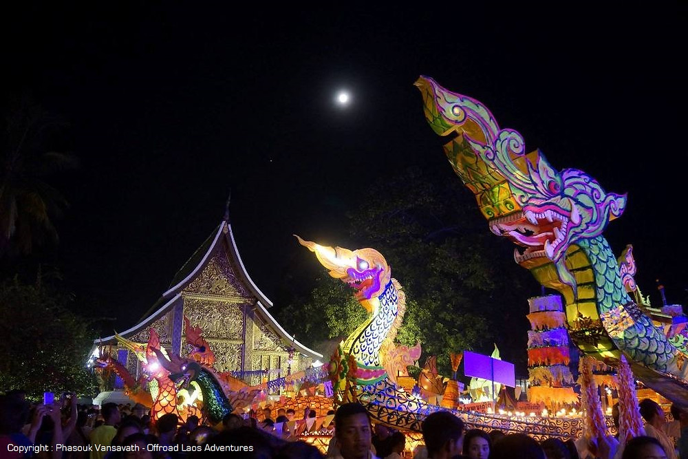 Festival of The Boats of Lights in Luang Prabang