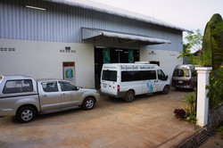 Our Delivery vehicles & our Factory