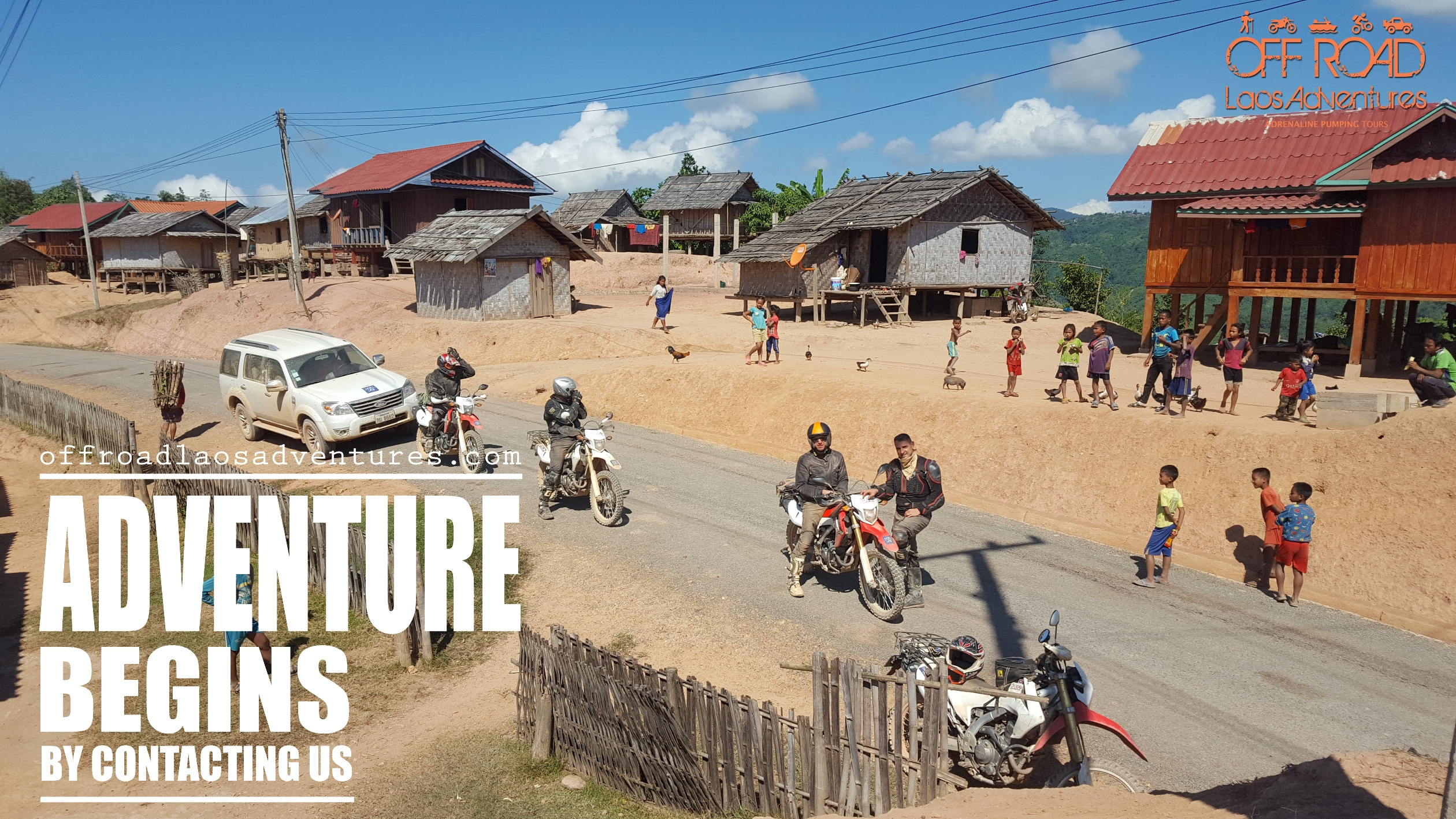 Offroad Laos Adventures (Official) | Laos Motorbike Adventure Tours